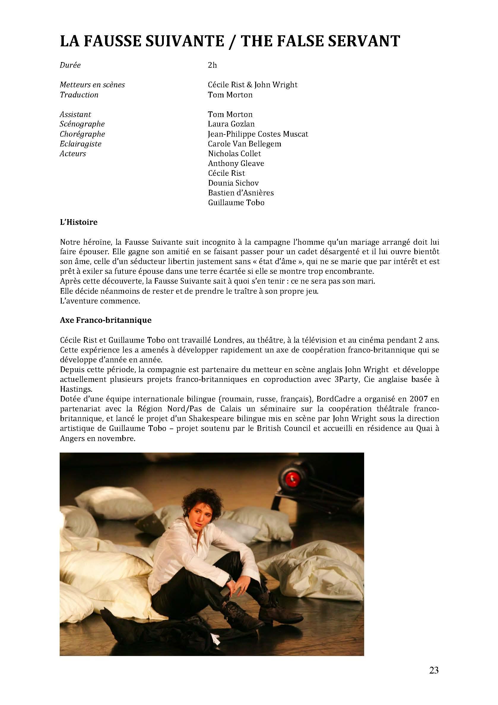 LA NUIT JUSTE AVANT LES FORÊTS - Revue de presse de BordCadre & Cécile Rist_Page_19
