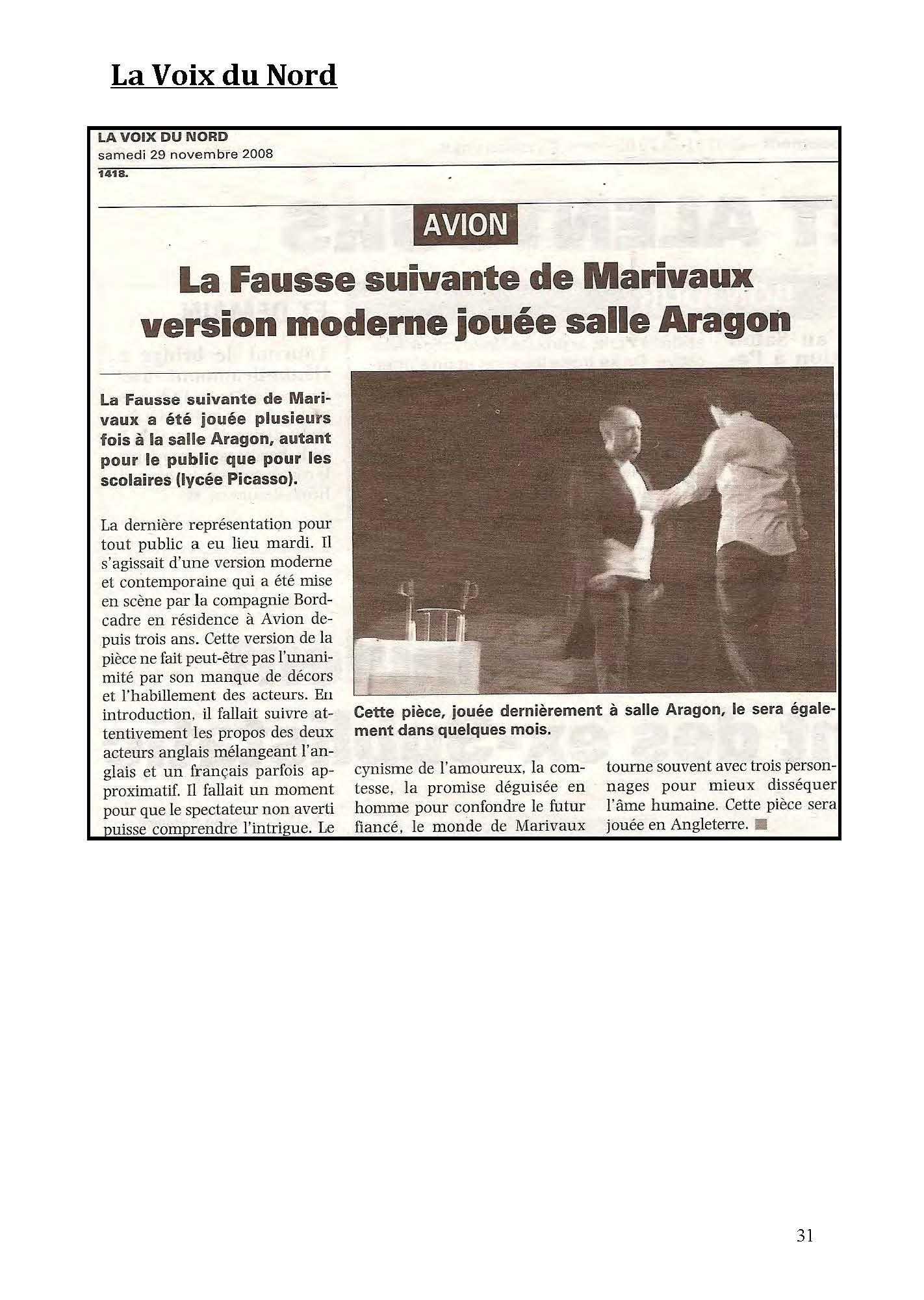 LA NUIT JUSTE AVANT LES FORÊTS - Revue de presse de BordCadre & Cécile Rist_Page_27