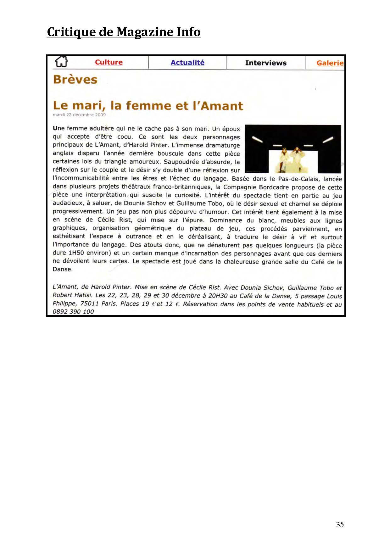 LA NUIT JUSTE AVANT LES FORÊTS - Revue de presse de BordCadre & Cécile Rist_Page_31