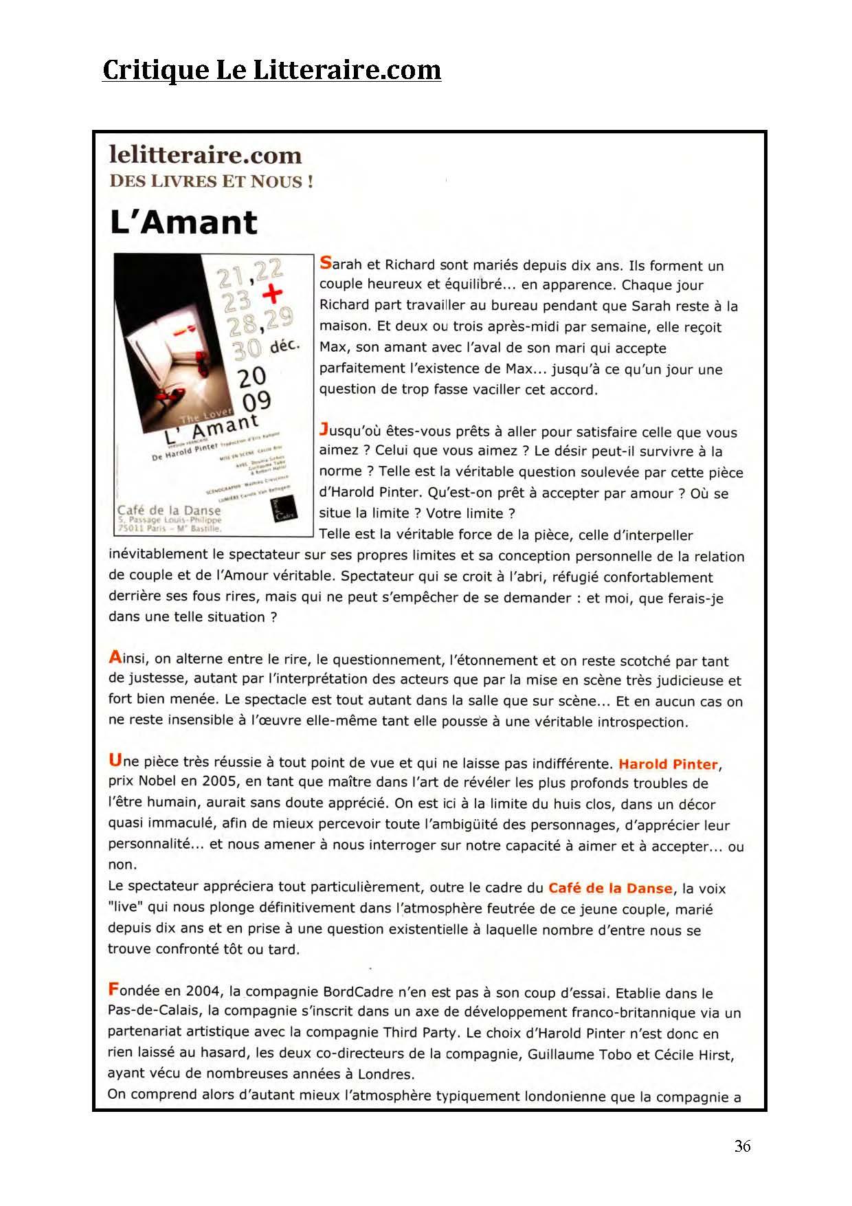 LA NUIT JUSTE AVANT LES FORÊTS - Revue de presse de BordCadre & Cécile Rist_Page_32