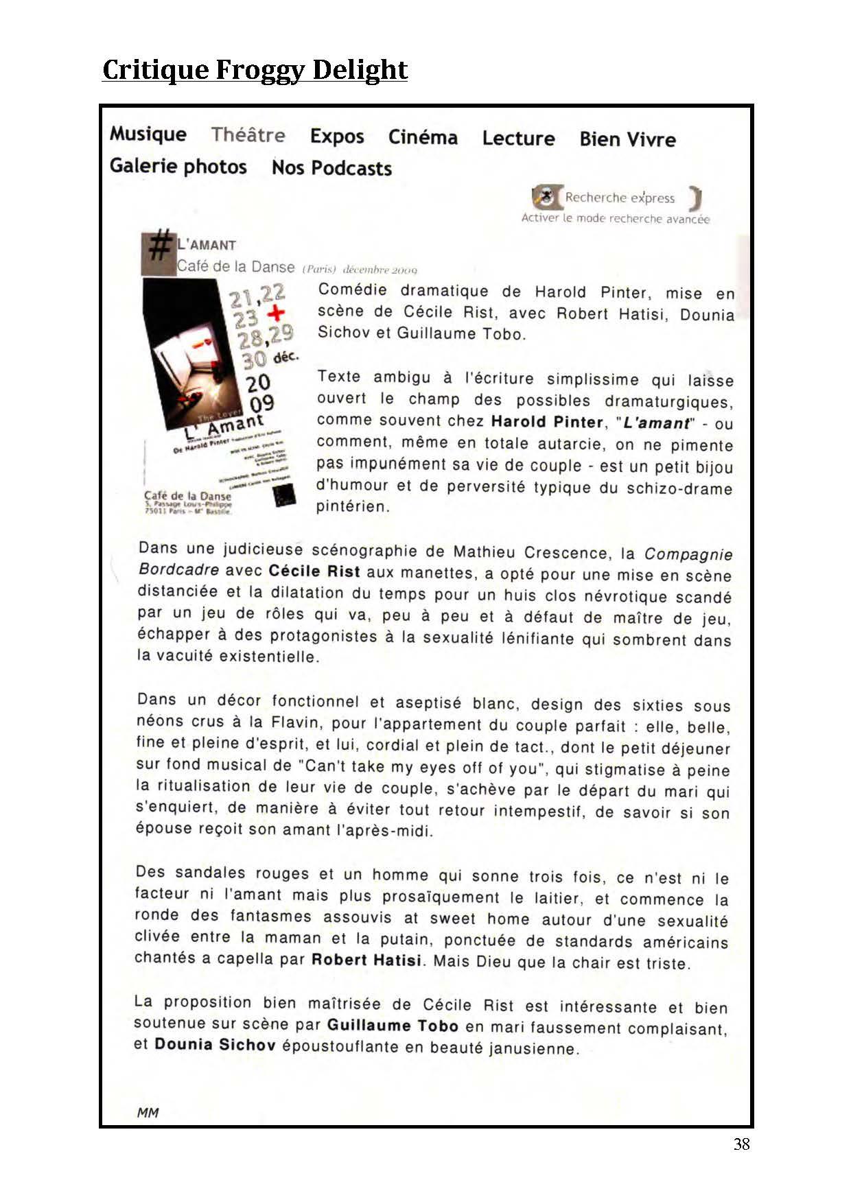 LA NUIT JUSTE AVANT LES FORÊTS - Revue de presse de BordCadre & Cécile Rist_Page_34
