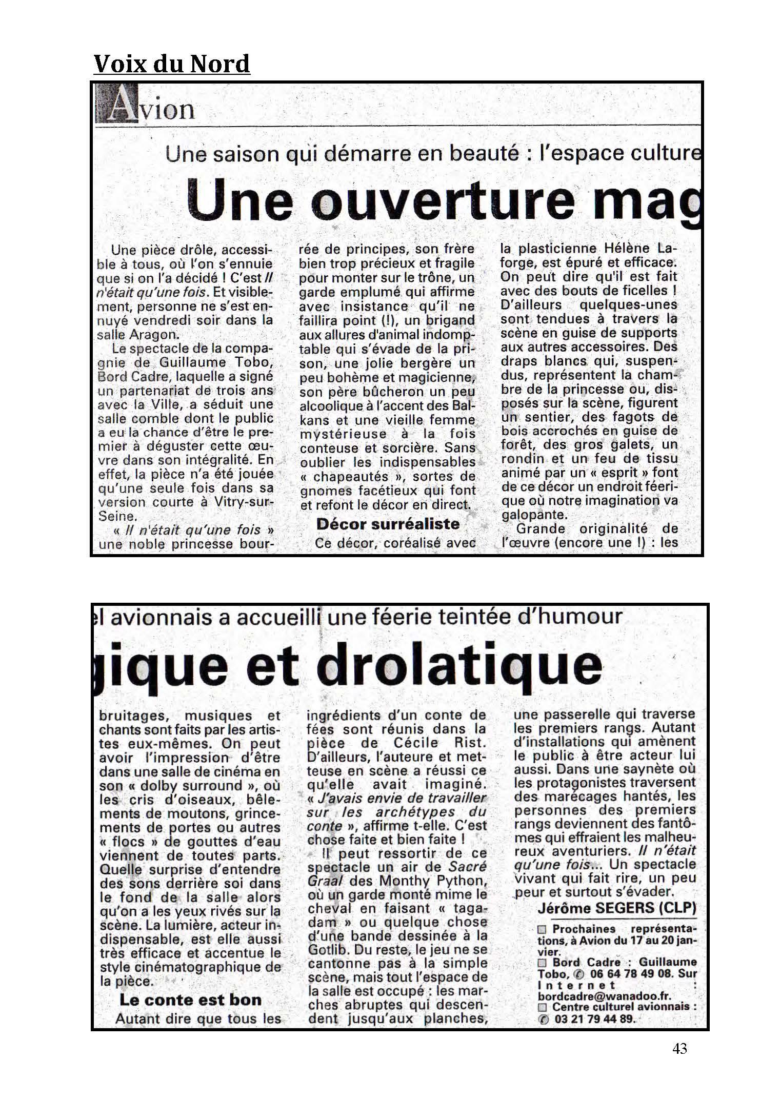 LA NUIT JUSTE AVANT LES FORÊTS - Revue de presse de BordCadre & Cécile Rist_Page_39
